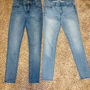 Abercrombie Jeans Simone Harper super skinny 26 2